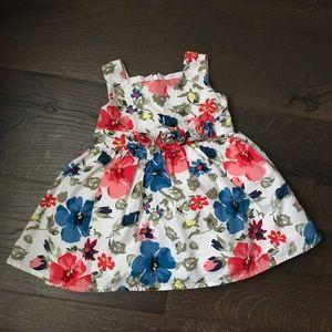 🌺 Floral Children's Place Dress - 12m